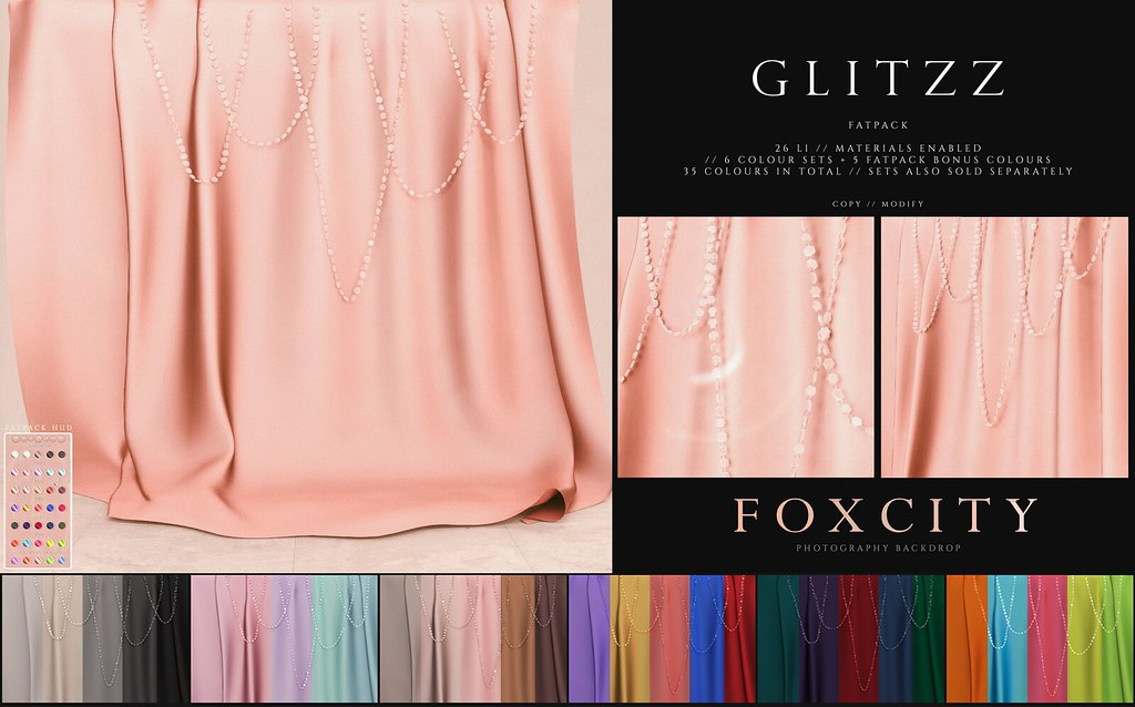FOXCITY. Photo Booth - Glitzz (Fatpack)