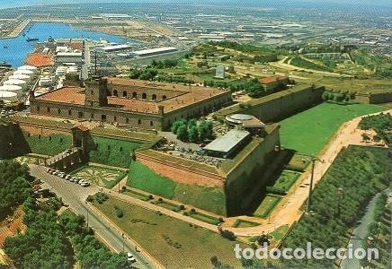 Castell de Montjuïc i port