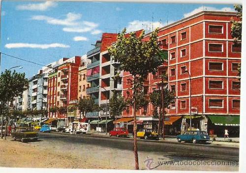 Avinguda Masnou barri de la Florida L'Hospitalet de Llobregat