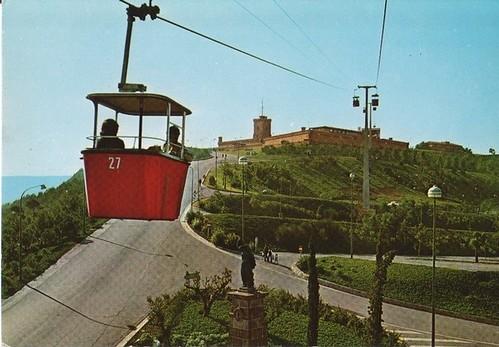 Telefèric al castell de Montjuic
