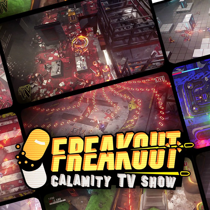Thumbnail of Freakout: Calamity TV Show on PS4