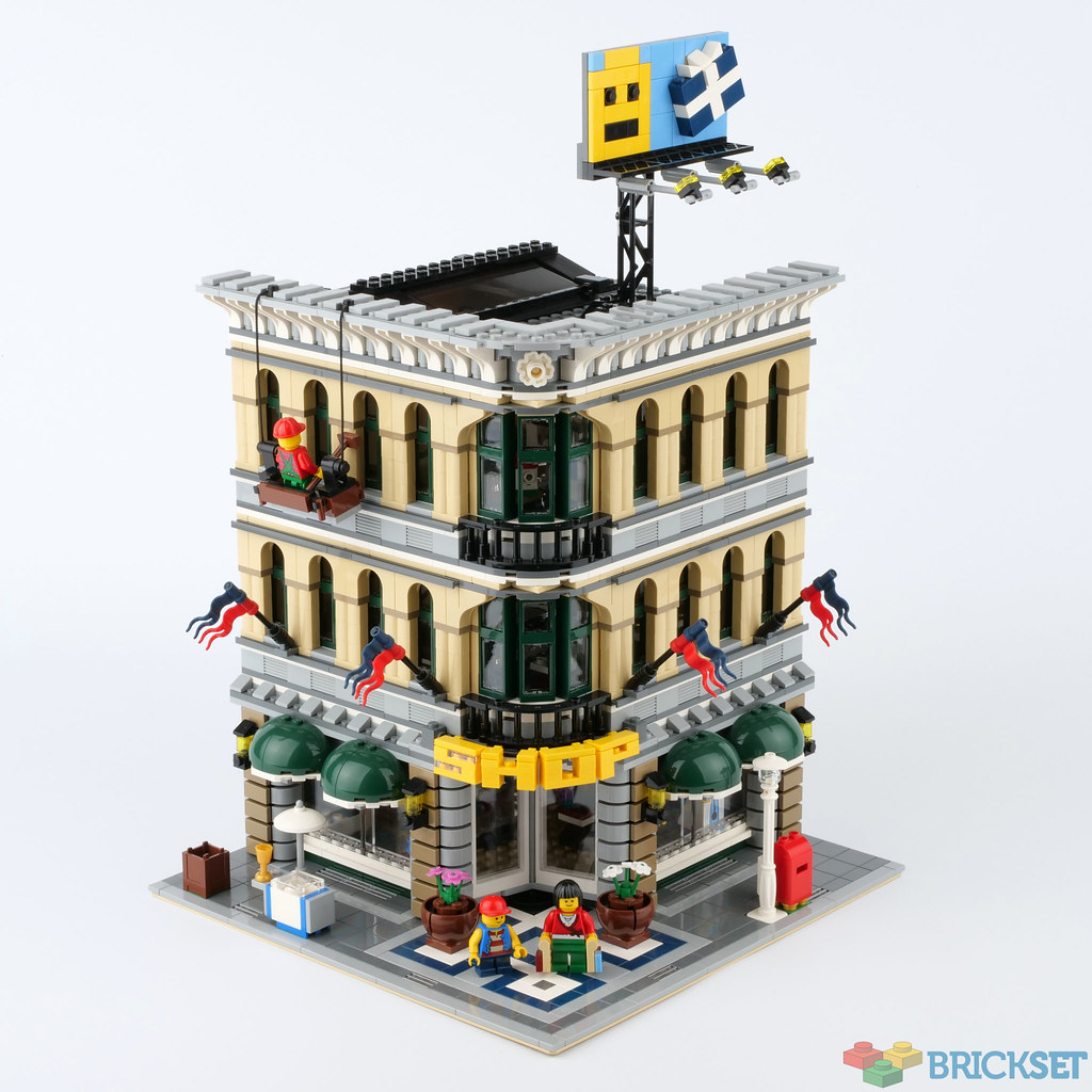 LEGO SEALED10211 Grand Emporium 10218 Pet Shop Corner House