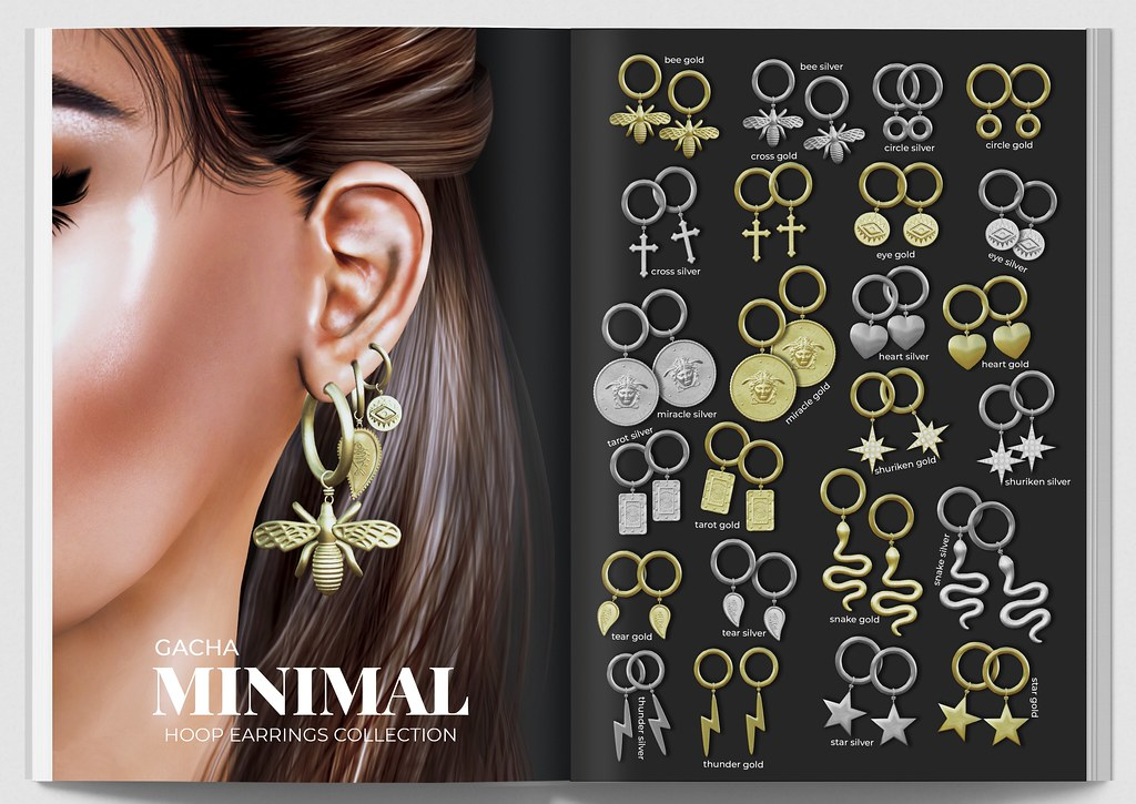MINIMAL – Hoop Earrings Collection