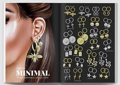 MINIMAL - Hoop Earrings Collection