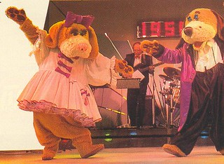 Henry with Henrietta in the Musical Time Machine