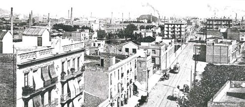barri de Trullàs al Poblenou de Barcelona (font La Vanguardia)