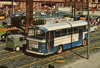 autobus Lai Karpetan plaça Espanya Barcelona