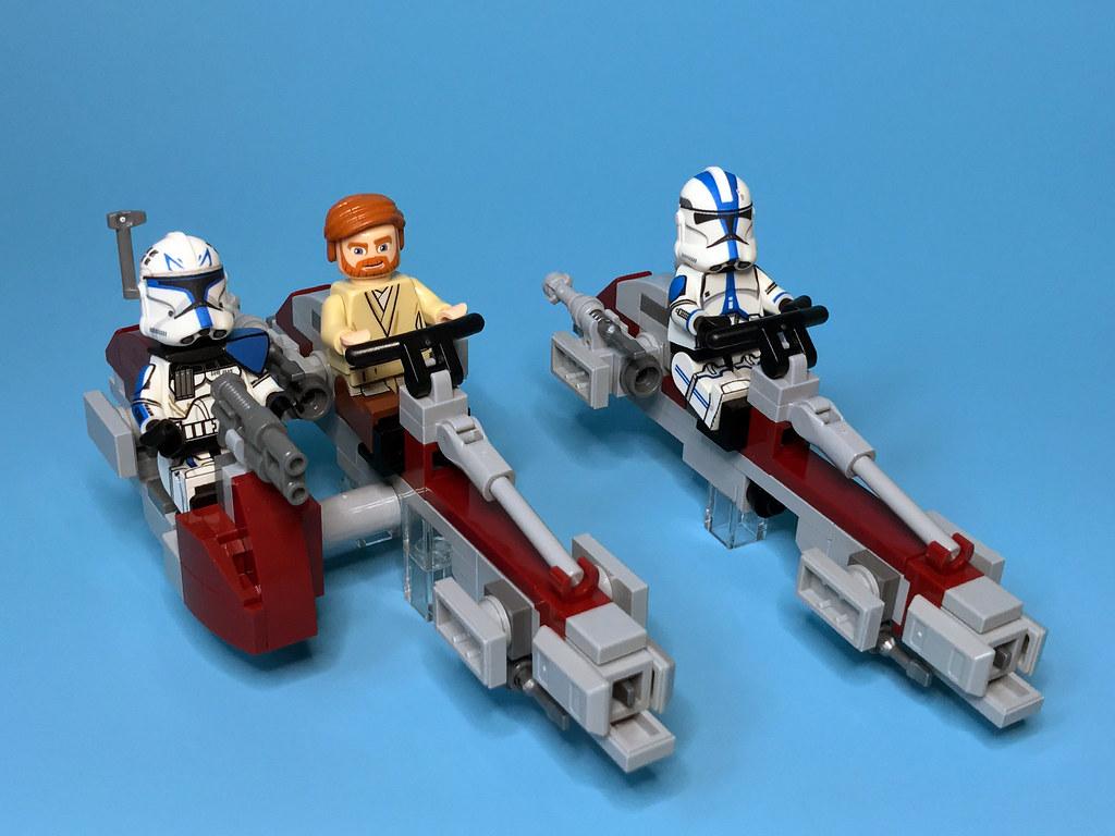 LEGO Star Wars BARC Trooper minifigure