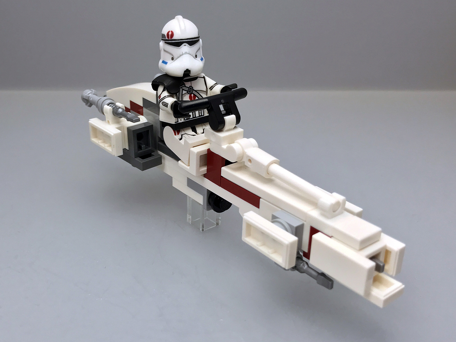 MOC LEGO Star Wars Clone Trooper BARC Speeder, Apr.14 ...