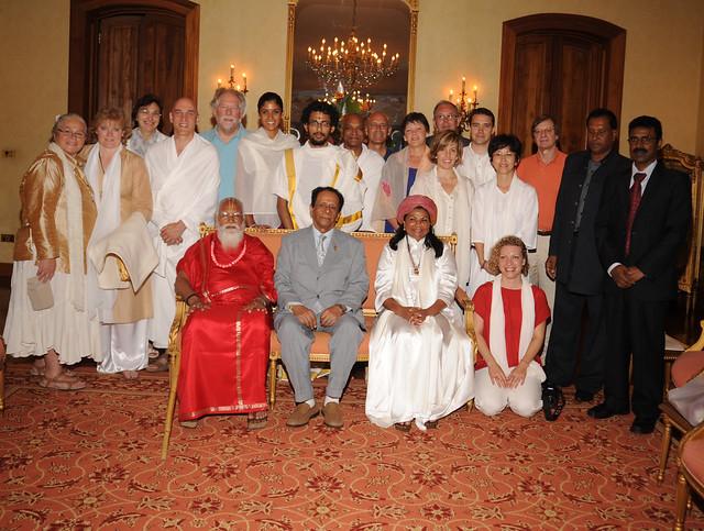 Jan 2011 Sai Maa in Mauritius