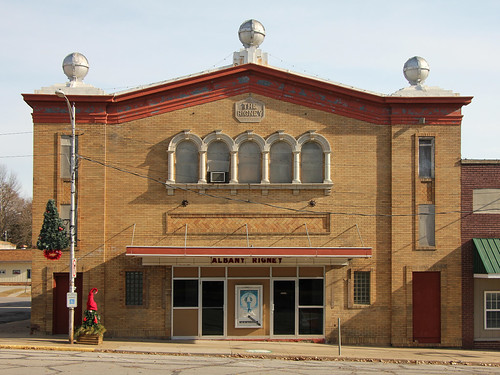 Rigney Theater Building - Albany, MO | by The Bouncing Czech