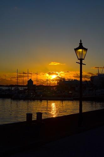 bermuda hamilton albuoyspoint pointpleasantpark sunset