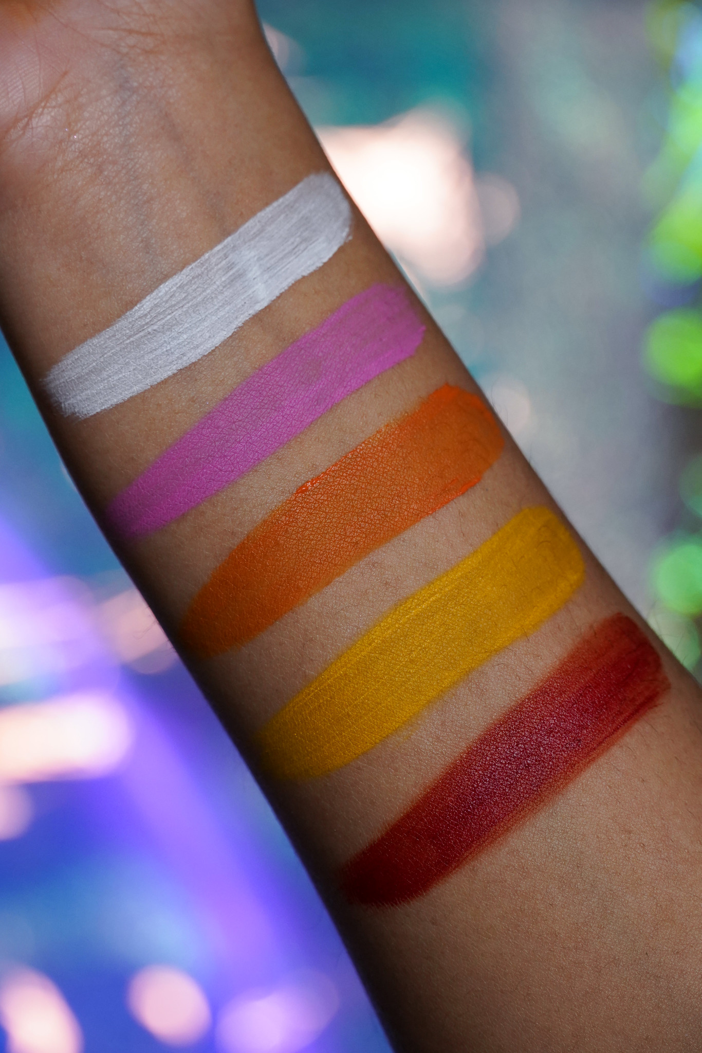 Depixym cosmetic emulsions pigments swatches 0004 1162 0924 0982 0899