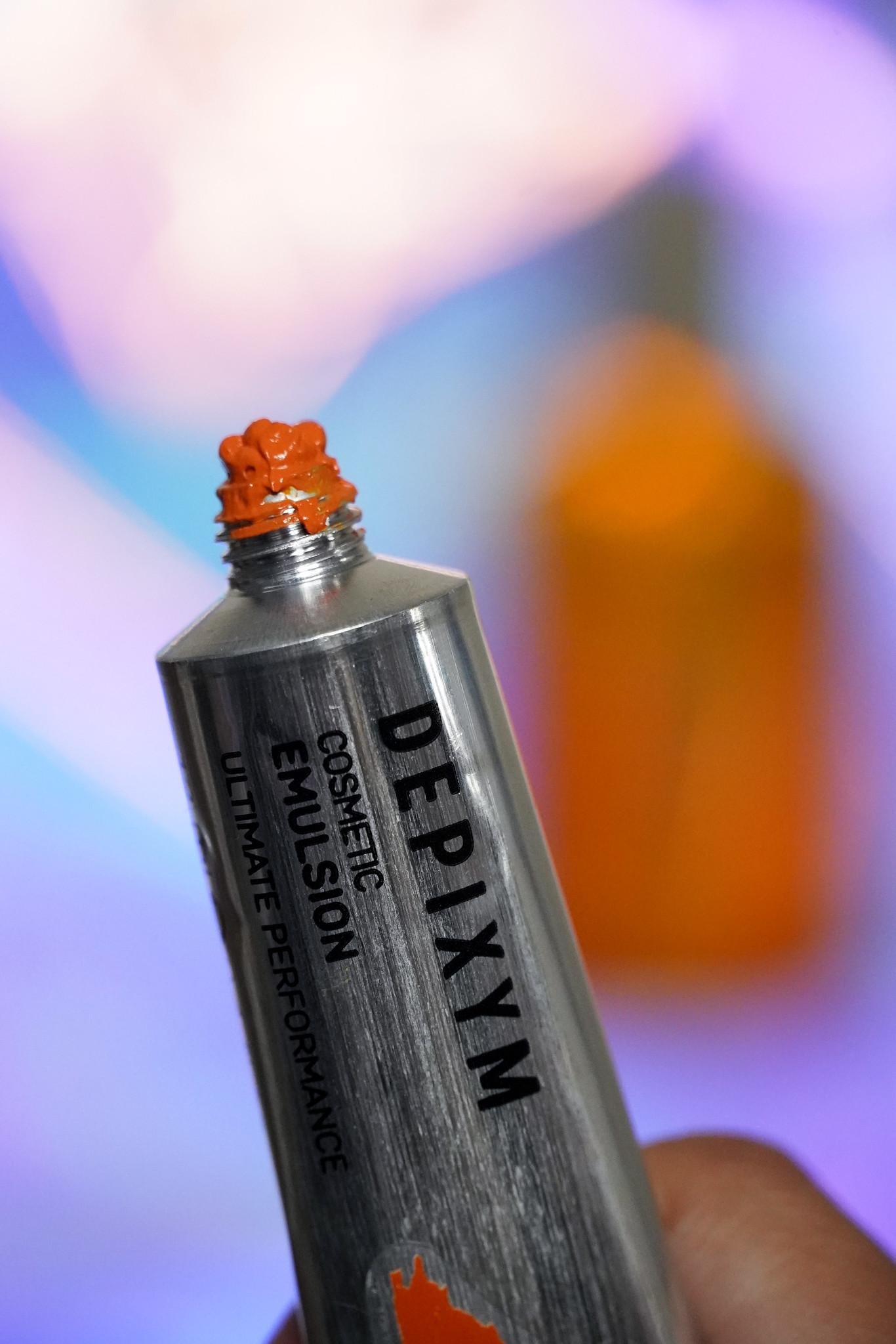 Depixym cosmetic emulsions pigments reviews 0924 orange