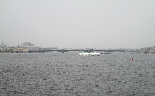 St Petersburg, Bridge on River Neva