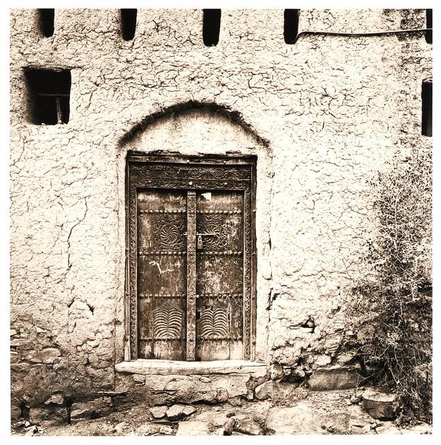 Lehmhaus, Oman 2001