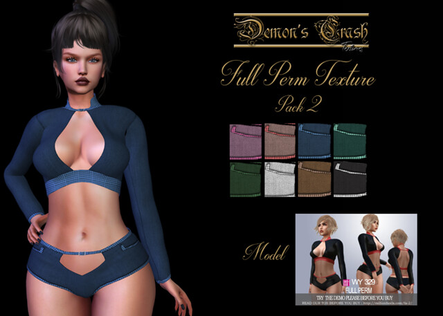 [DC] Textures – [WY]Full Perm 329- 2