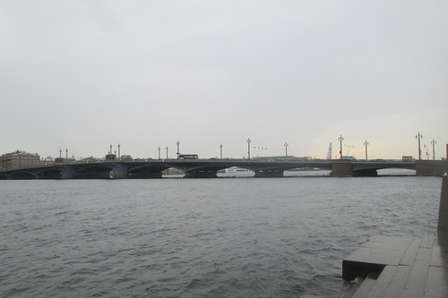 Bridge Over The River Neva, St Petersburg,