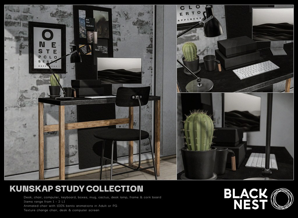 BLACK NEST / Kunskap Study Collection / kustom9