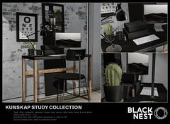BLACK NEST / Kunskap Study Collection / kustom9