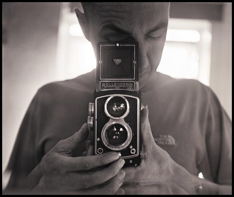 Rolleicord Selfie