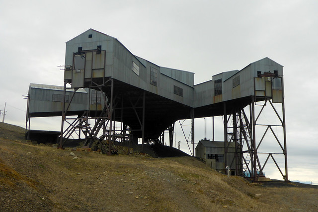 The old mine at Longyearbyen