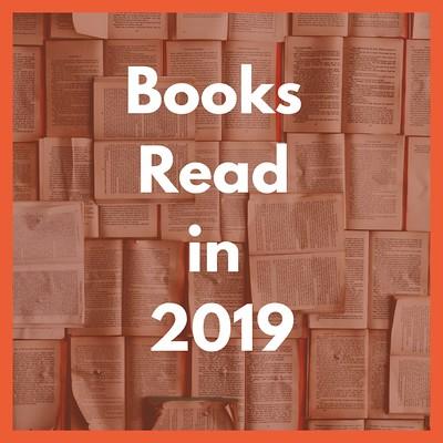 Books Read in 2019