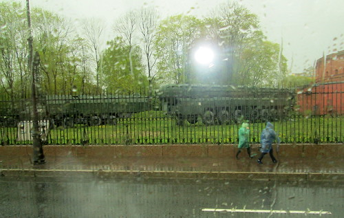 Military Vehicles, St Petersburg,