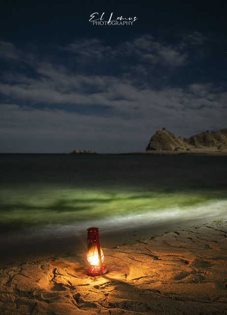 A light of Hope In this uncertain Times, Punta Final, Baja California.