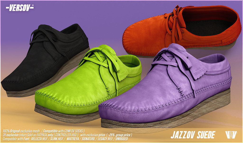 [ Versov // ] JAZZOV UNISEX FLATS available at Kustom9
