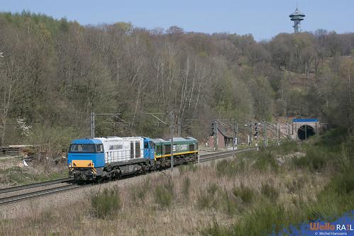 V 208 + V267 . RTB Cargo . Z 89110 . Gemmenich . 09.04.20.