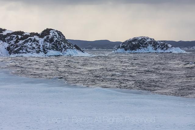 Stormy Seas at Twillingate, Newfoundland