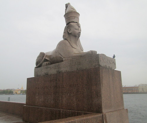 A Sphinx, St Petersburg