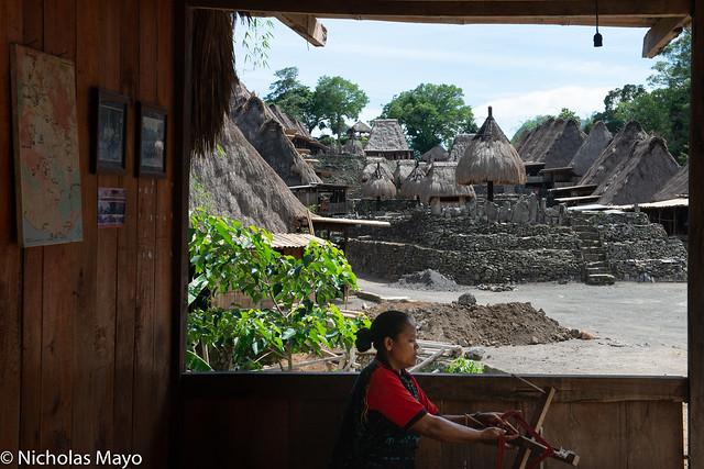 Spinning Thread In Bena Village