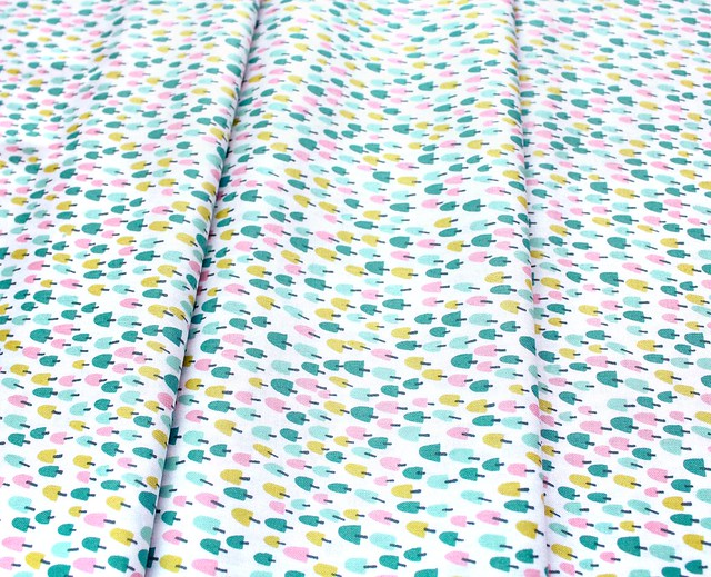 Felicity Fabrics Burgess Field in Begonia 610010