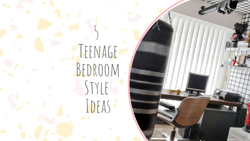 5 Teenage Bedroom Style Ideas