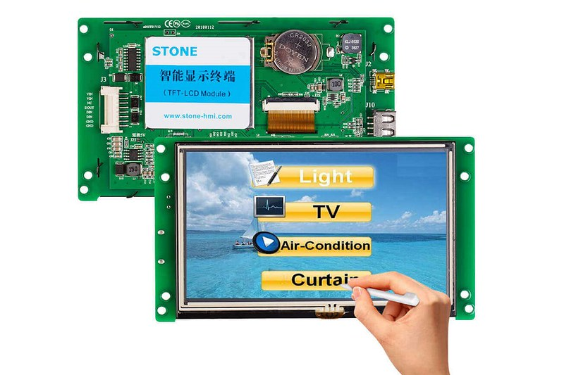 STONE 5'' Touch TFT Display Manufacturers LCD Module Supplier