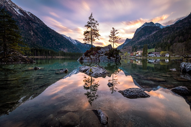 Lake Hintersee - Golden Hour