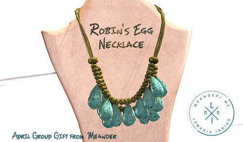 Robin's Egg Nexklace Group Gift @ Meander