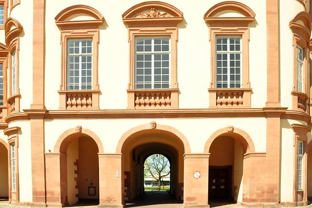 April 2020 ... Barockschloss Mannheim ... Fotos: Brigitte Stolle