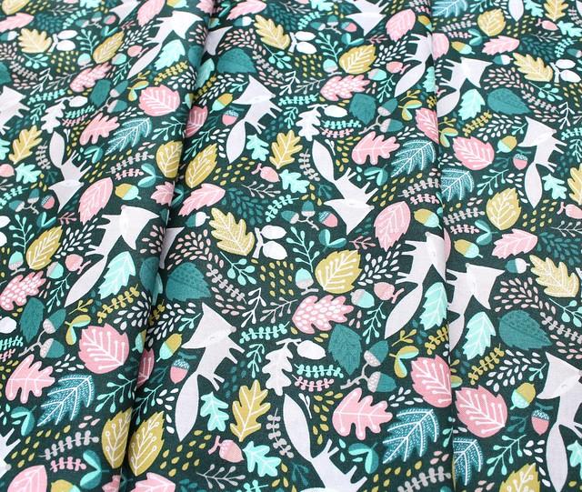 Felicity Fabrics Burgess Field in Begonia 610007