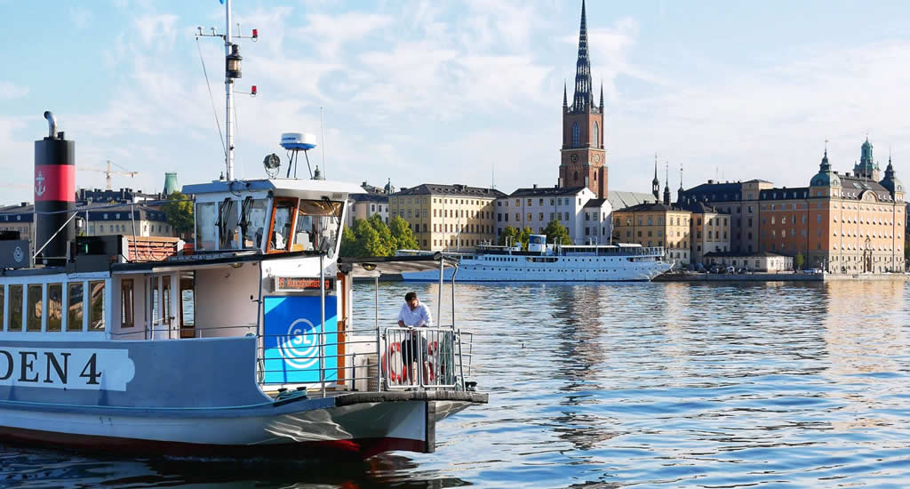De grachten van Stockholm | Mooistestedentrips.nl