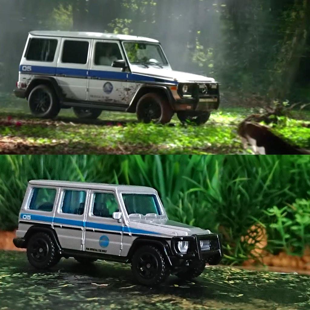 Mattel Matchbox Jurassic Park The Lost World Legacy Jurassic World Fallen Kingdom Movie Vehicle Toy Mercedes Benz G Class G550 G Wagon A Photo On Flickriver