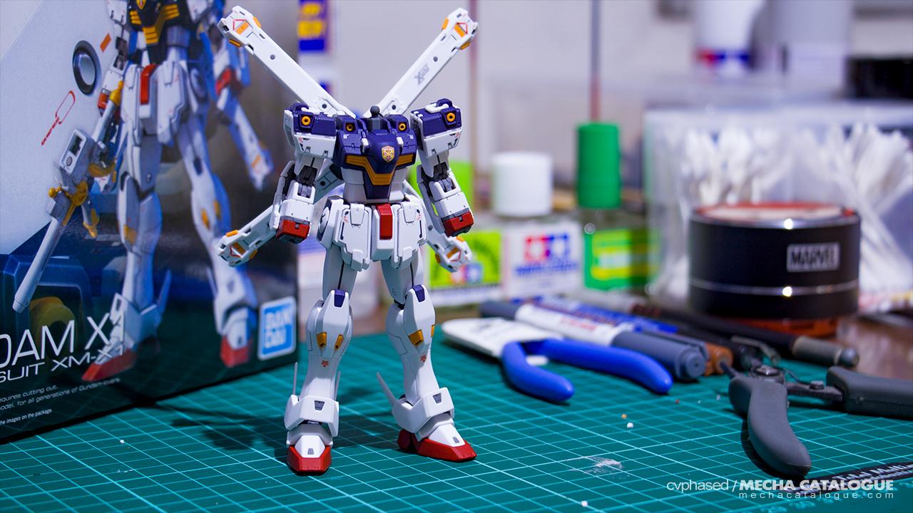 Quarantine Build! Work-in-Progress #1: RG Crossbone Gundam X1