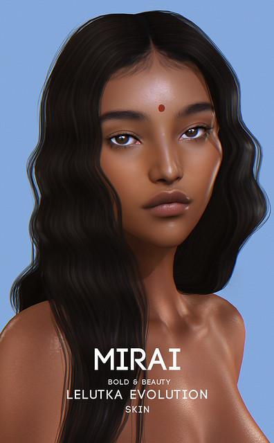 Bold & Beauty Mirai Applier Lelutka + BOM @Kustom9