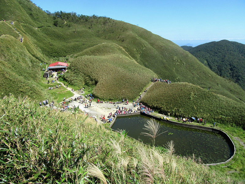 Marian Cabin Hiking Trail is a very popular hike in Taiwan and you hike there by yourself.