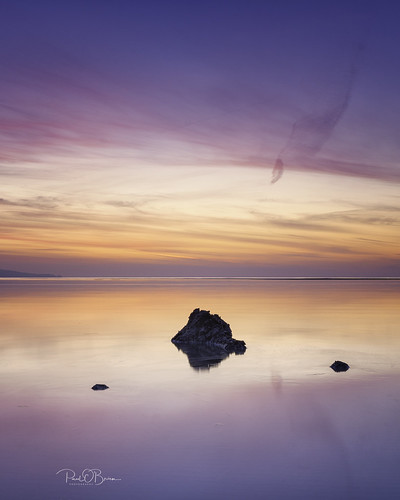 sandymount blackrock beach walk sunrise colour paulobrien