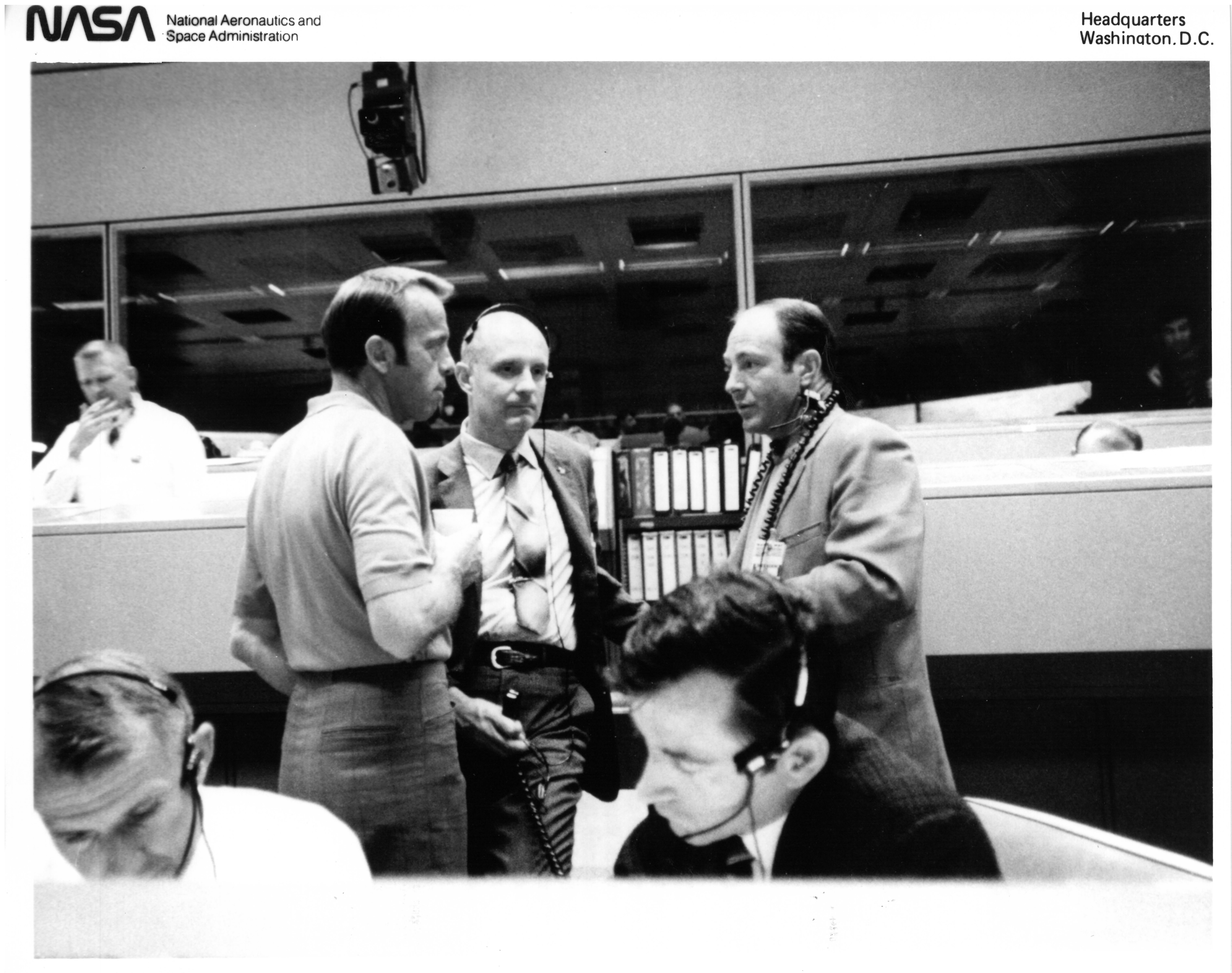 At Mission Control During Apollo 13