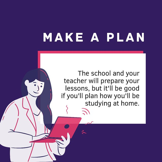 Tips for learning from home!