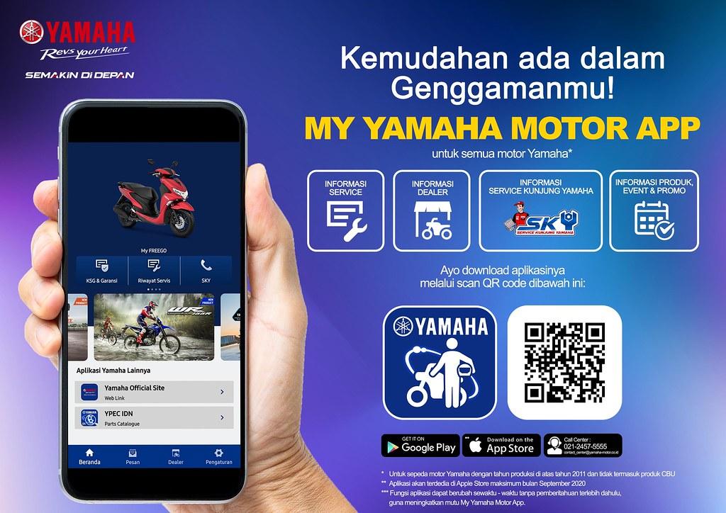 My Yamaha Motor App